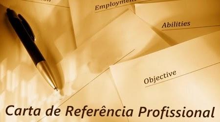 Carta de Referência Profissional