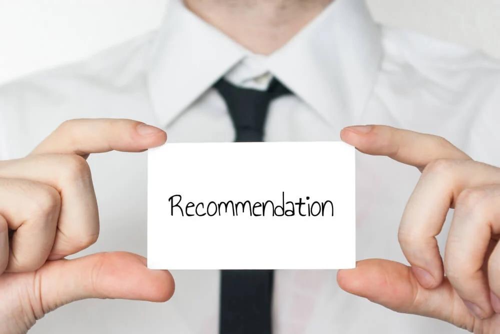 Carta de referência para emprego, o modelo ideal