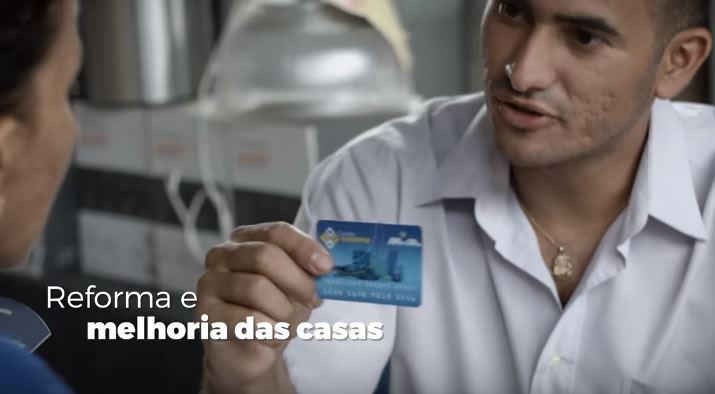 cartão reforma cadastro