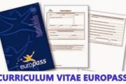 CV europass curriculum vitae