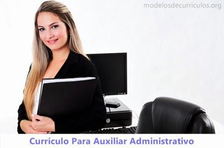 Currículo assistente administrativo