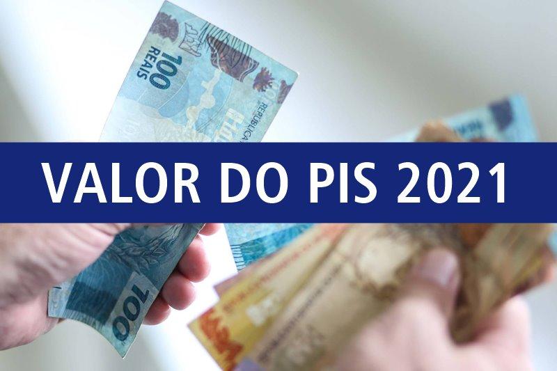 valor do PIS 2021