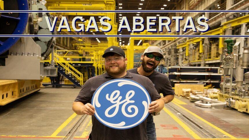 emprego - general electric - vagas - renewable - SP - BA