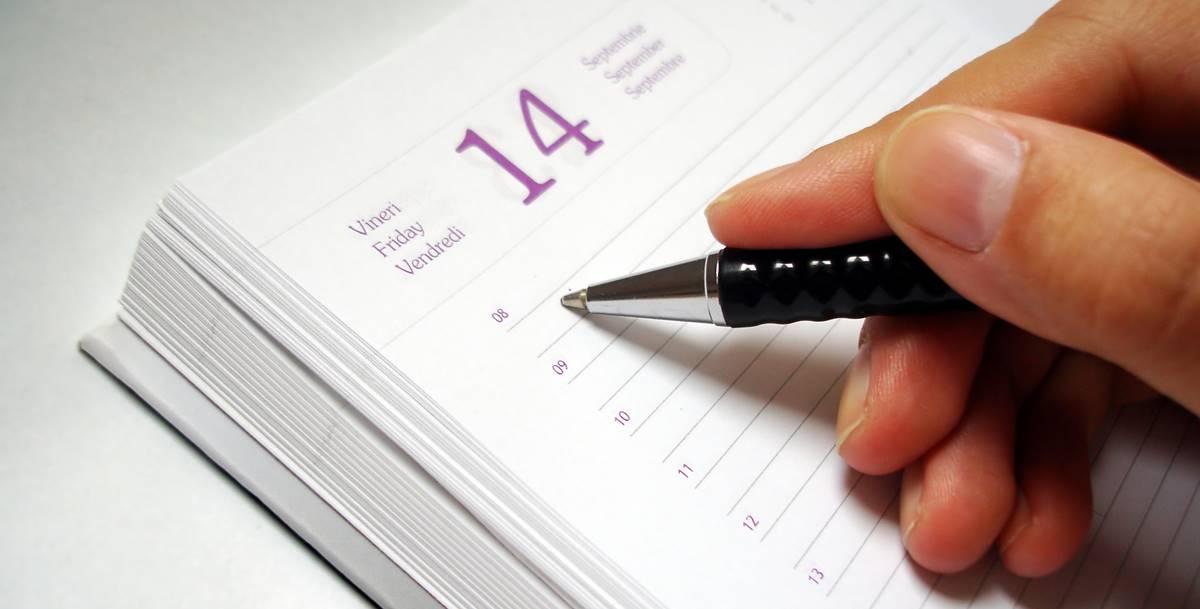 planejamento semanal home office