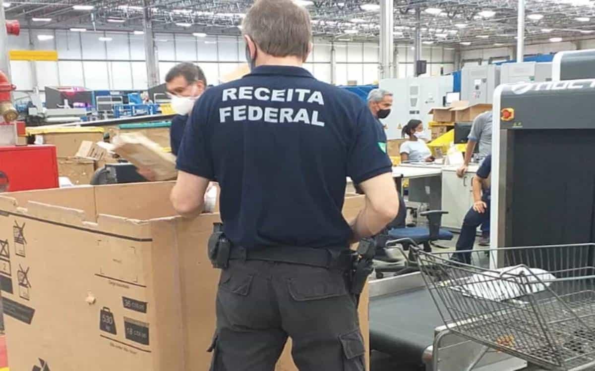 trabalhar na receita federal